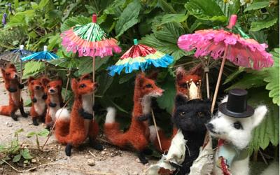 Needlefelt workshop – make a fox!
