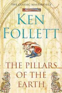 "Ken Follett's Pillars of the Earth. Packs quite a punch when dropped from approx. 10""."